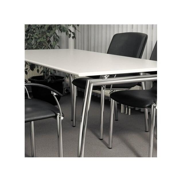 Office tables and chairs; Frame parts precision-ground and plated with high-gloss chromium