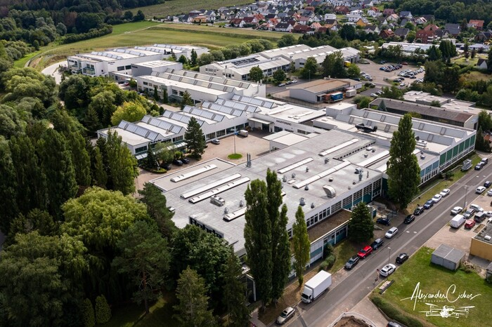 Aerial photography of our company