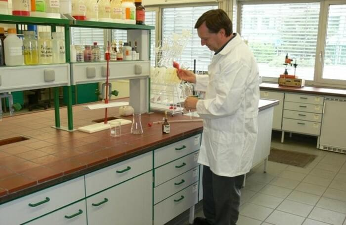 Analysis laboratory, Nörten-Hardenberg