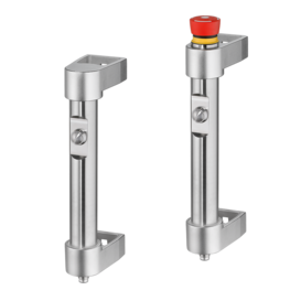 Functional Handles FG16-01 and FG16-04 made of Stainless Steel, push button, with emergency stop depending on type